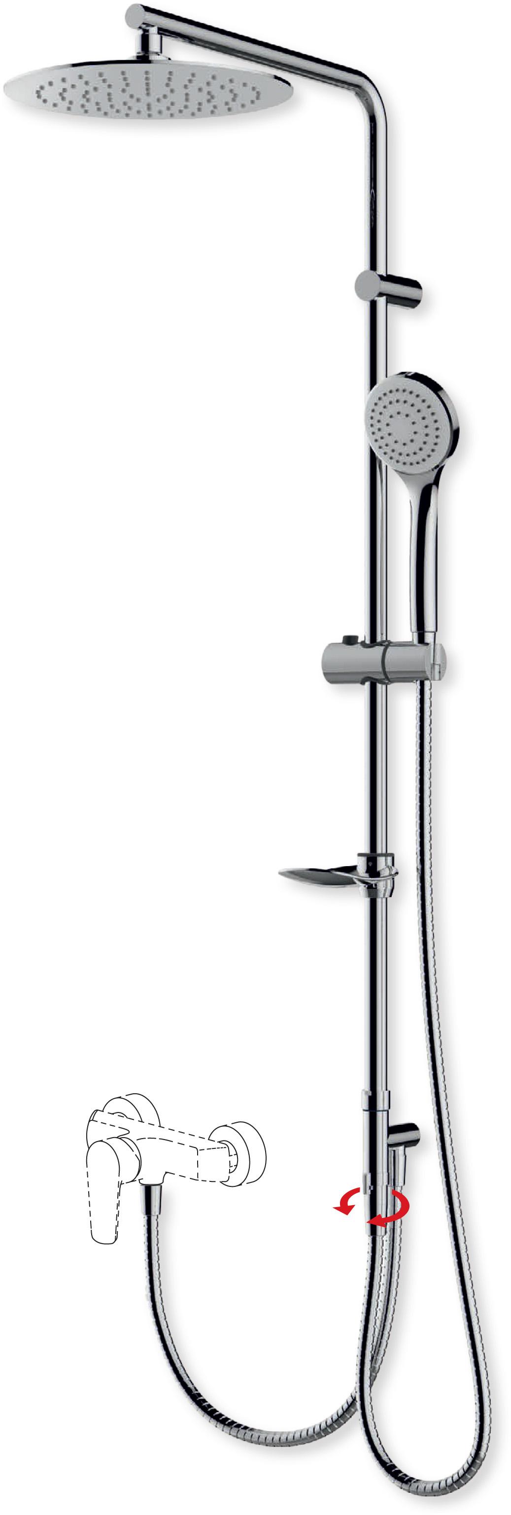 Sprchový sloup RAIN BASIC