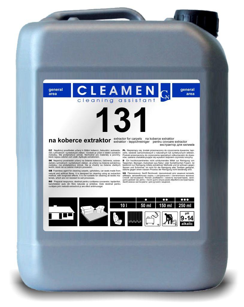 CLEAMEN 131 extrakční čištění 5 L