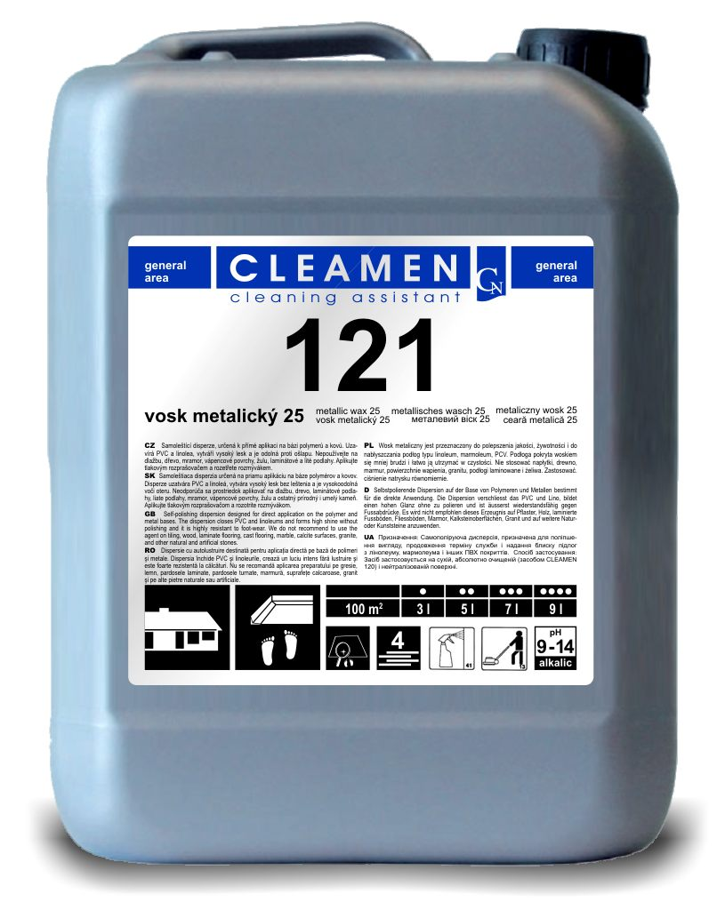 CLEAMEN 121 metalický polymer 5 L