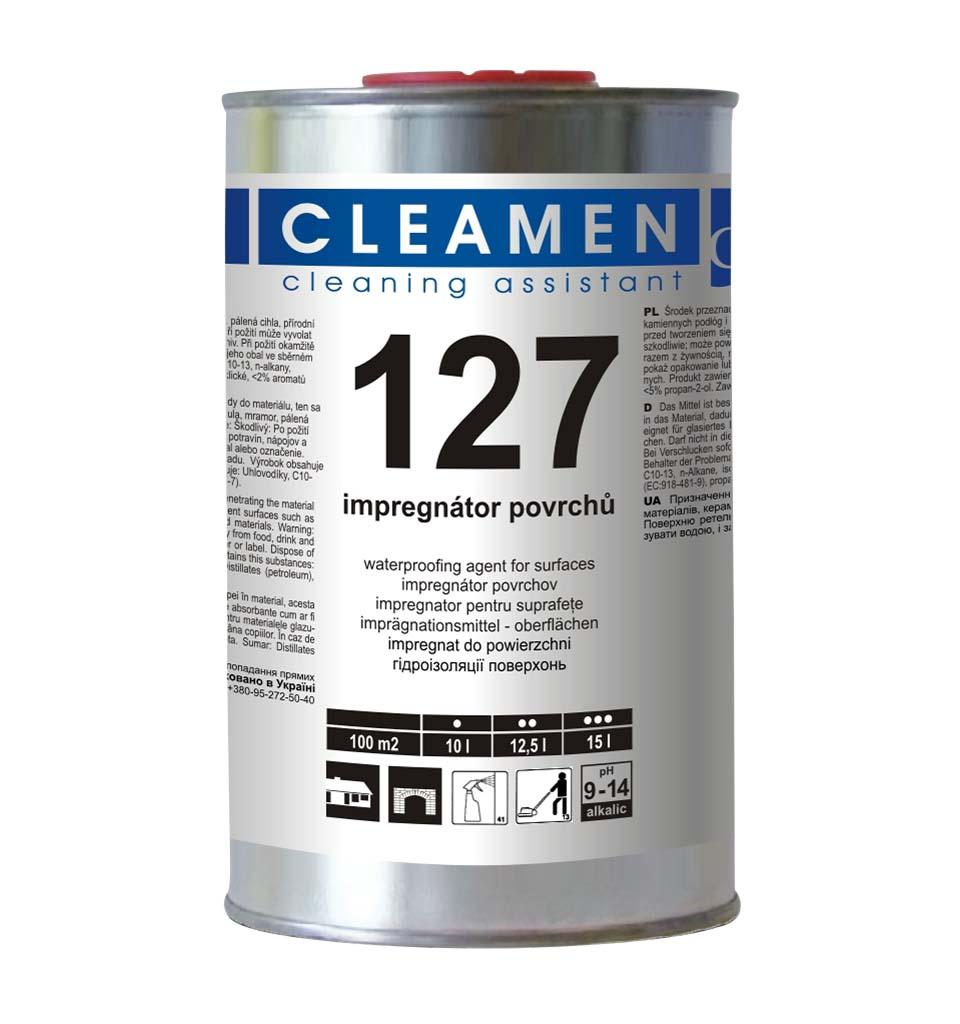 CLEAMEN 127 impregnátor povrchů 1 L