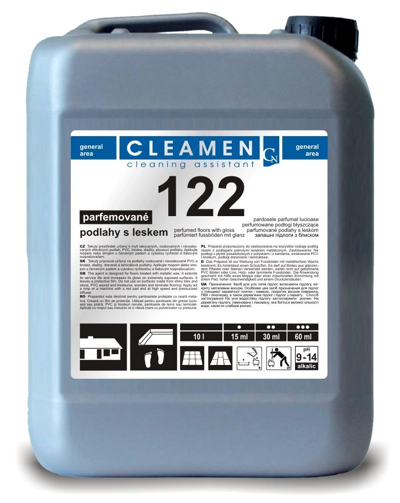 CLEAMEN 122 lesklé podlahy 5 L