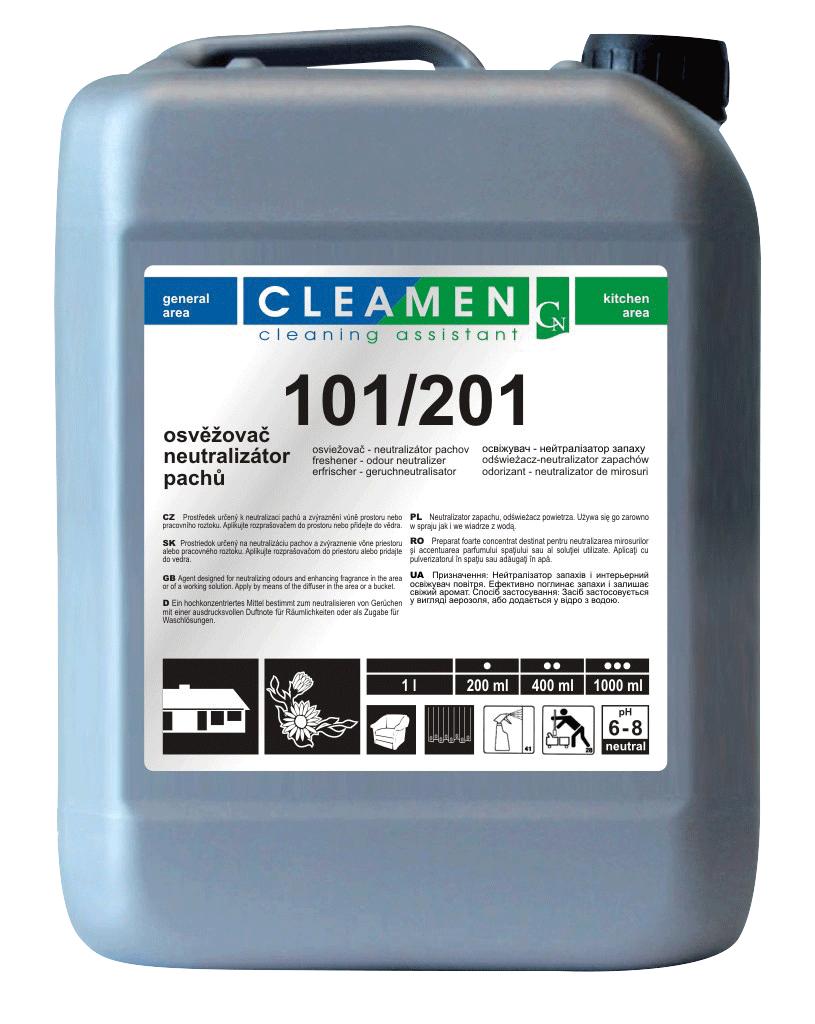 CLEAMEN 101/201 osvěžovač a neutralizátor pachů 5 L