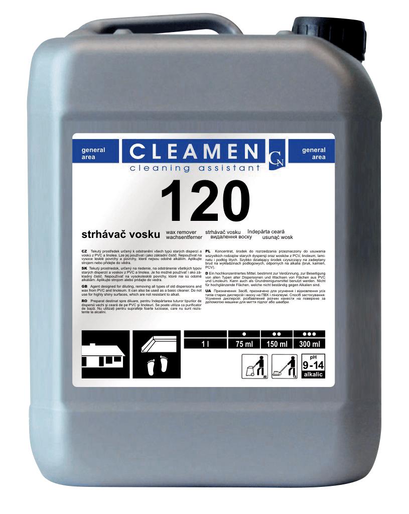 CLEAMEN 120 základní čistič 5 L