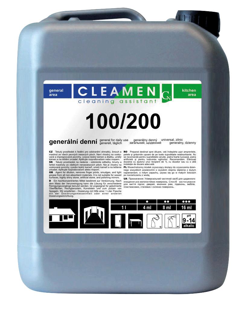 CLEAMEN 100/200 všestranný, každodenní 5 L