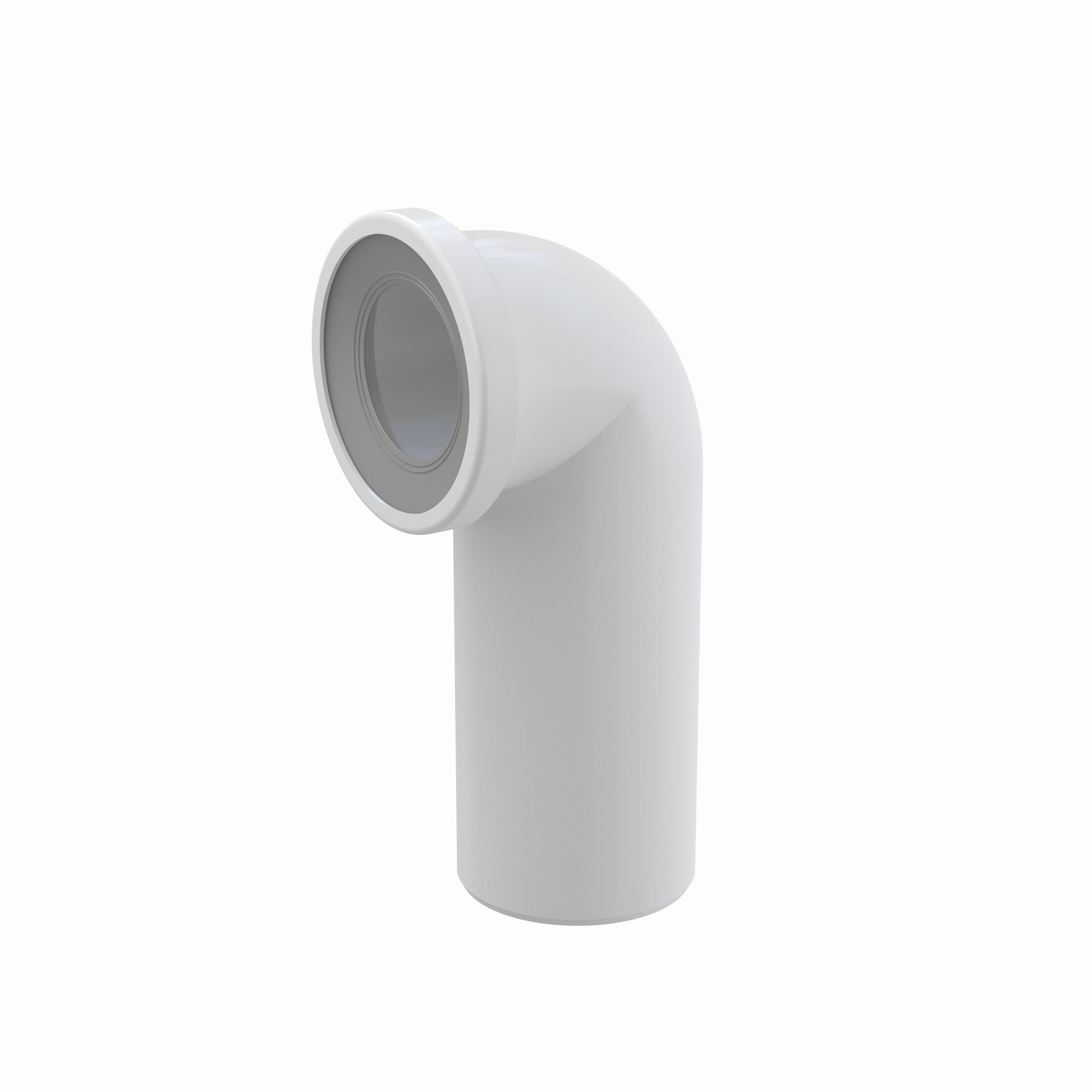 Dopojení k WC – koleno 90°