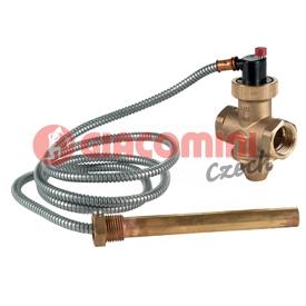 """Dochlazovací termostatický ventil, jednocestný, s kapilárou 3/4"""""""